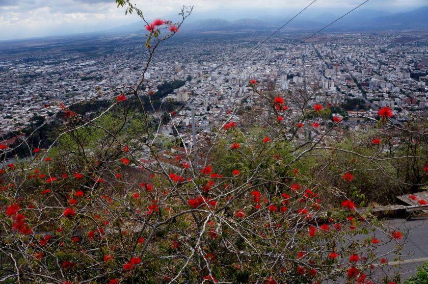 Vista do Cerro de San Bernardo