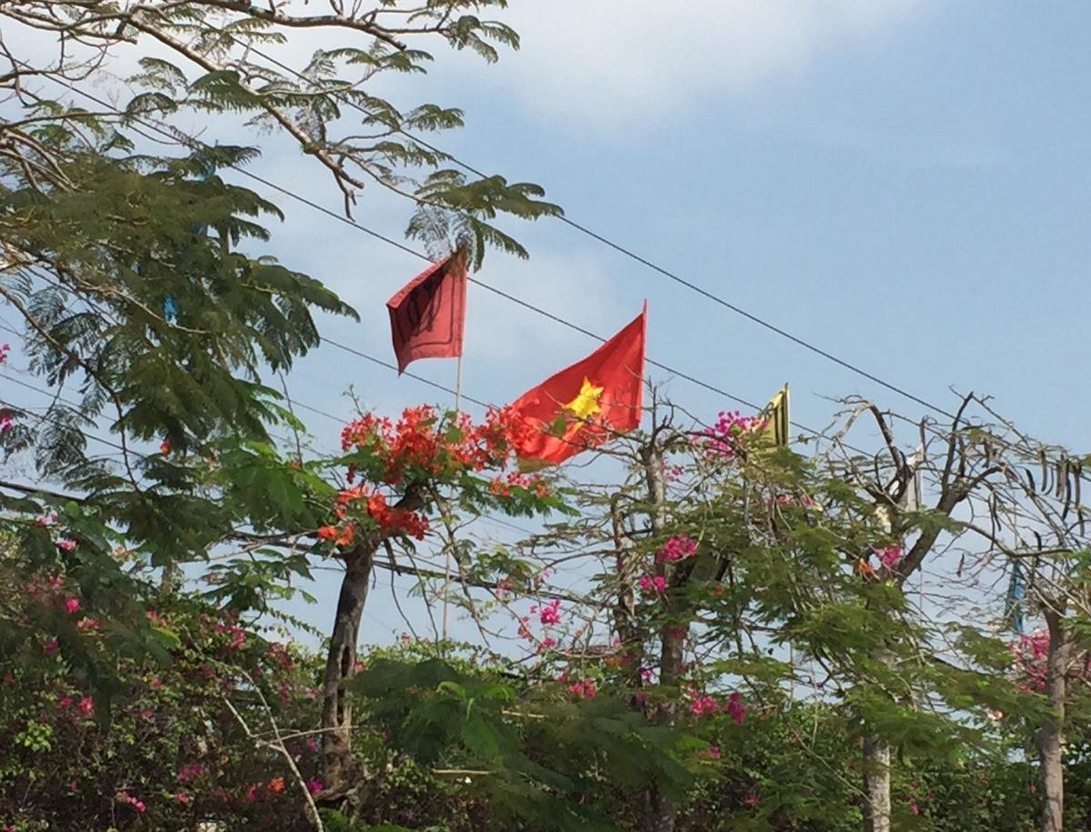 Chegando a Saigon